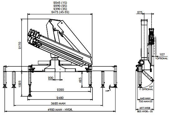 Кран-манипулятор производства