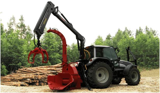 Измельчители древесины Farmi.