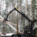 Компания «Д Лайт» предлагает новый лесной манипулятор PALFINGER VM10L