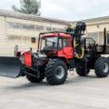 Новинка нашого виробництва – лісовоз на базі трактора ХТА