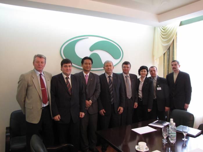 Бизнес-делегация из Кореи