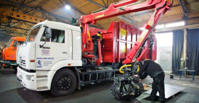 Service maintenance and repair of special-purpose machinery (hydraulics, loader cranes)