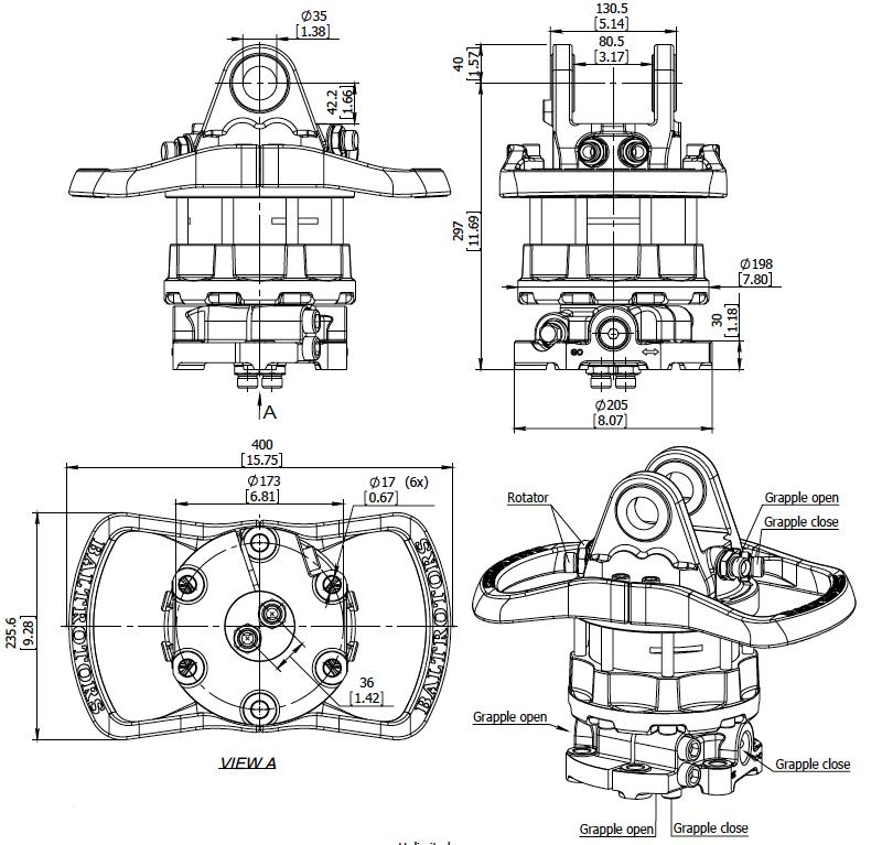 Ротатор производства Baltrotors
