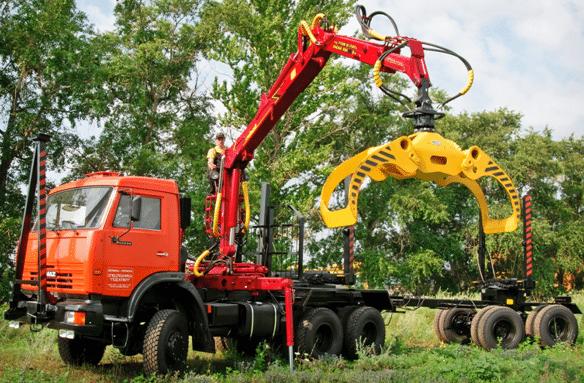 lesovoz kamaz 53228