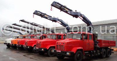 Фото грузовиков с КМУ