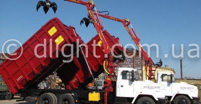 КрАЗ-65101 металловоз