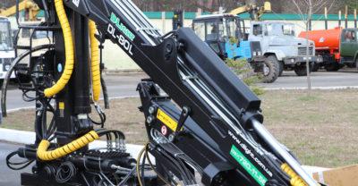 Кран-манипулятор от Д ЛАЙТ в Украине