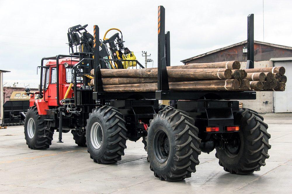 lesovoz traktor hta 12