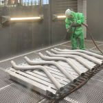 Нова послуга – дробіструмневе очищення металевих поверхонь