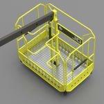Новинка нашого виробництва – удосконалена вантажопідйомна корзина!
