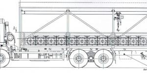ЛСПП на шасси КамАЗ с кран-балкой